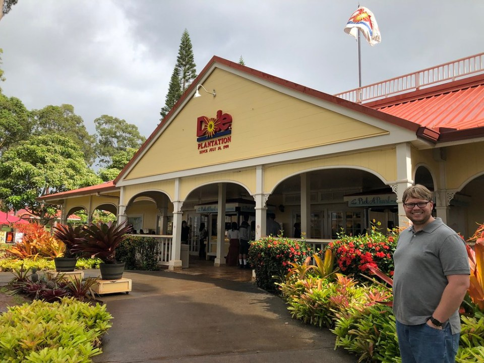 A visit to the Dole Plantation