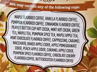 Fall Coffee Sampler Pack Review