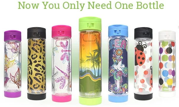 Glasstic Water Bottle Holiday Review