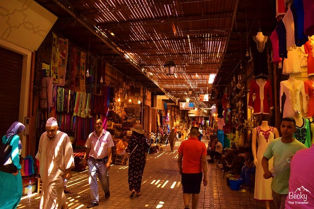 Marrakesh/Marrakech Guide - Marrakesh souks in Morocco