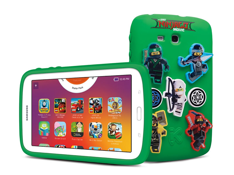 Samsung Galaxy Kids Tablet Ninjago Movie Edition