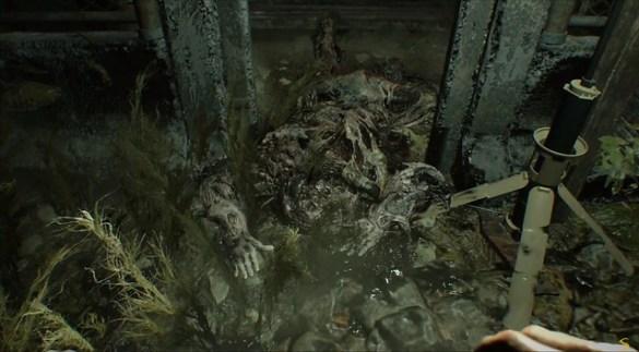 Resident Evil 7 End of Zoe - Maggot Monster