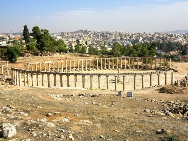 Zonas arqueológicas en Jordania