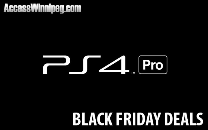 Playstation 4 Canadian Black Friday Deals 2017