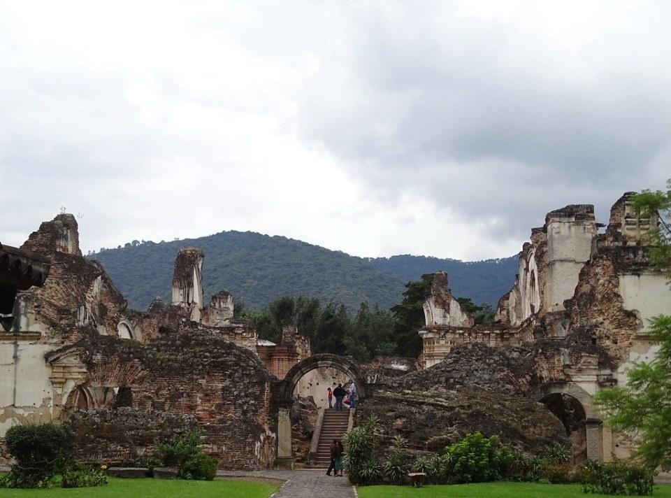 Antigua Ruinas Convento e Iglesia de la Recoleccion Guatemala