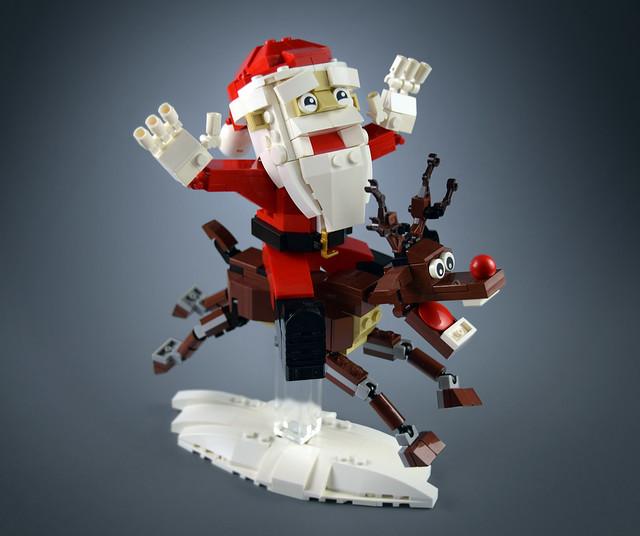 Nez Rouge et le Père Noël