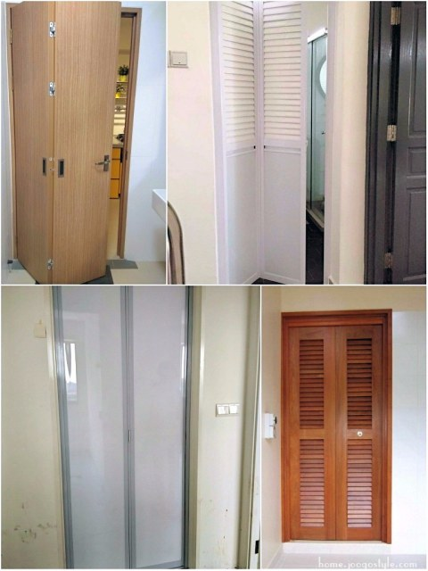 Toilet Doors in Singapore (Bi-Fold Doors) - Joogo Home