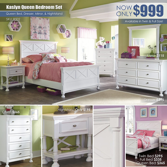 Kaslyn Queen Bedroom Collage