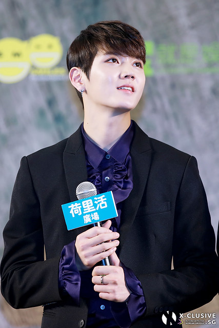 Ren (Choi Minki) of NU'EST W at Press Conference in Hong Kong