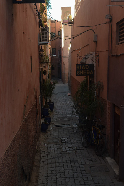 Alley in the Medina