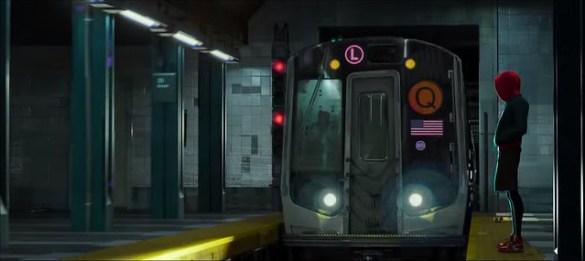 Spider-Man Into The Spider Verse - Subway
