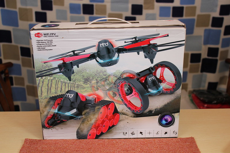 HHD H3 3 in 1 RC Quadcopter 開封編 (3)