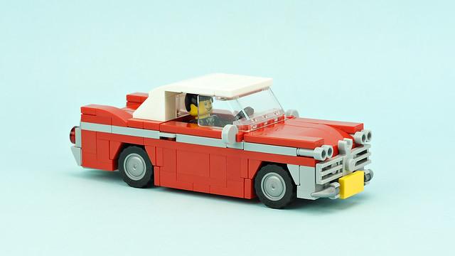 """Vintage Car """"Christine"""" LEGO Plymouth Fury"""