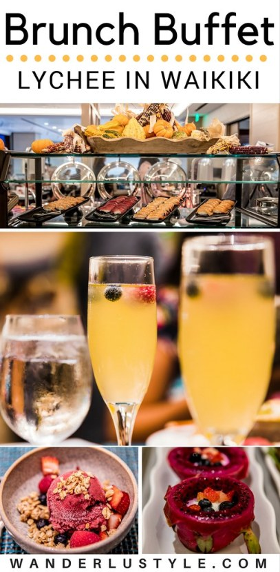 Brunch Buffet at Lychee Restaurant in Alohilani Resort Waikiki | Wanderlustyle.com