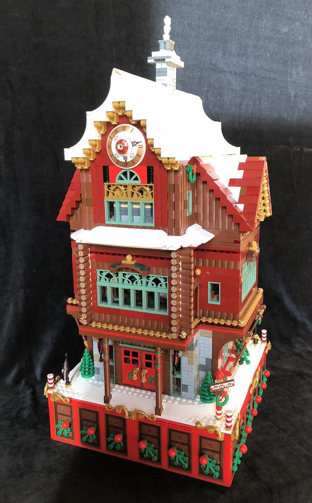 Santa's Workshop at the North Pole - Calendrier de l'avent