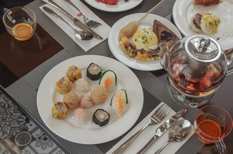 breakfast at cafe rizal, rizal park hotel manila