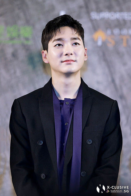 Aron (Kwak Youngmin) of NU'EST W at Press Conference in Hong Kong