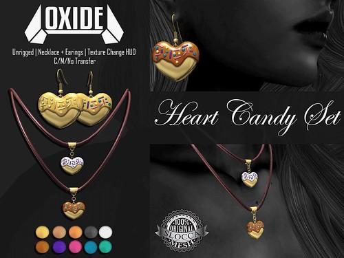 OXIDE Heart Candy Set - Candy Fair 2017