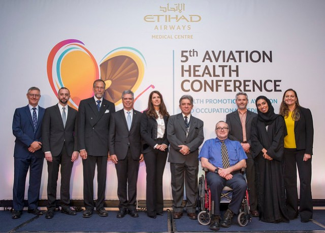 Etihad aviation health conference