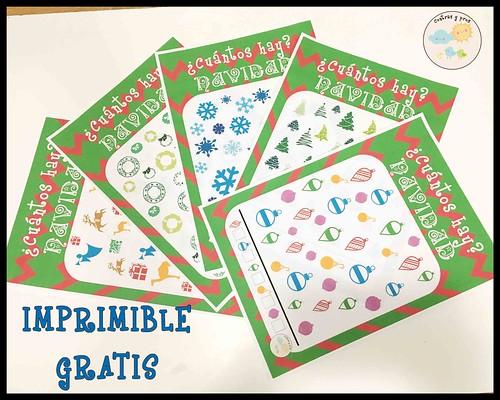 Pasatiempos de Navidad para niños. Imprimible gratis