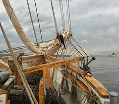 Rigging a Tall Ship on the Baltic Sea