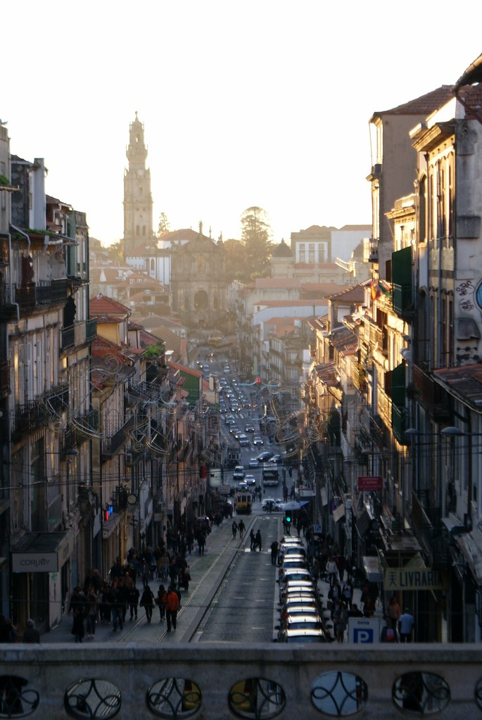 Quartier De Baixa S Porto Centre Et Coeur De La
