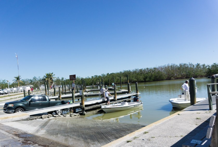 The Flamingo Boat Ramp (Florida Bay side) Was Busy on a Saturday Afternoon, Everglades National Park, Nov. 25, 2017.