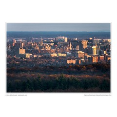 Evening, Downtown Ottawa from Gatineau Park