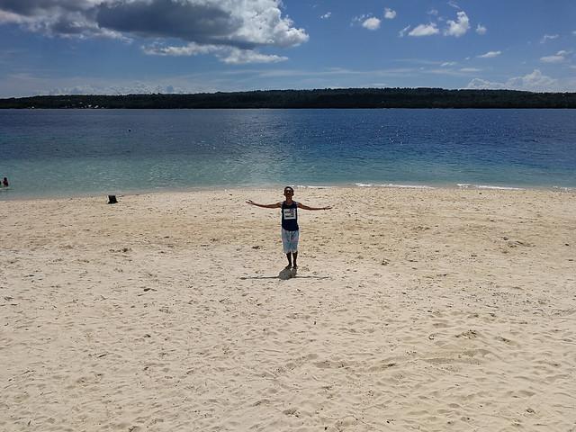 Samal Island Kaputian Beach overlooking Talikud