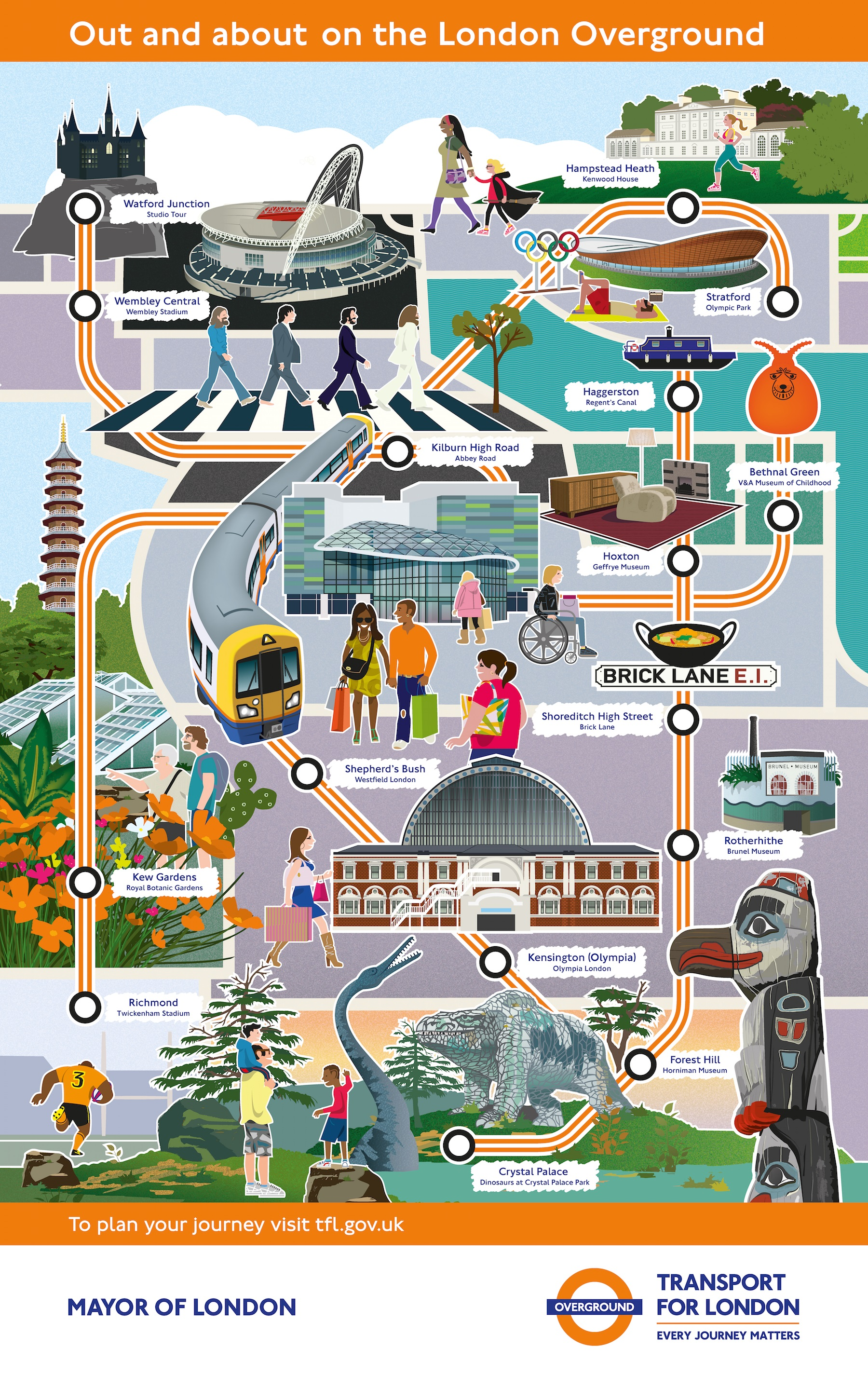 Out and about on the London Overground