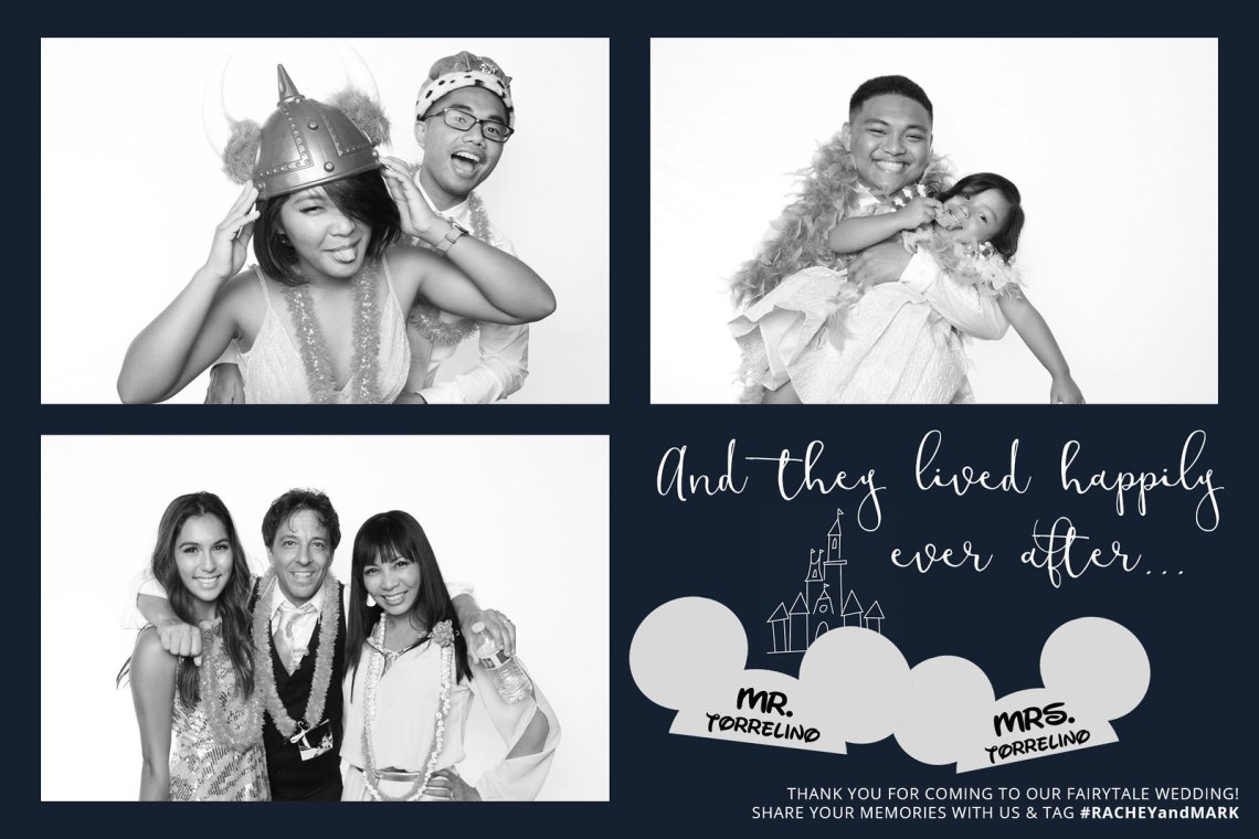 RACHEYandMARK Disney-Inspired Photobooth Layout - SAMPLE