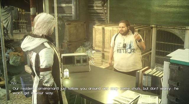 Final Fantasy XV товариші - Херлі