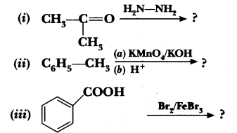 Important Questions for CBSE Class 12 Chemistry