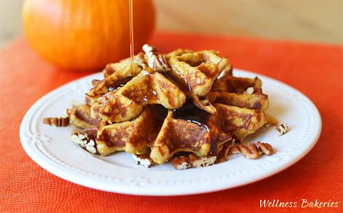 Keto Pumpkin Waffles