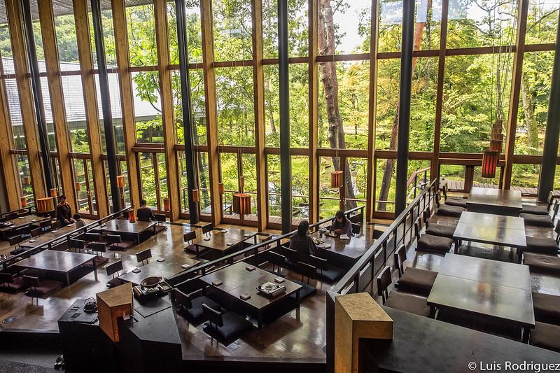 Restaurante Kasuke en Hoshinoya Karuizawa