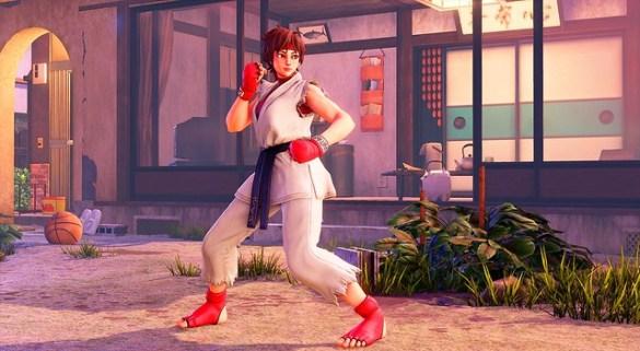 Street Fighter 5 - Sakura Battle Costume