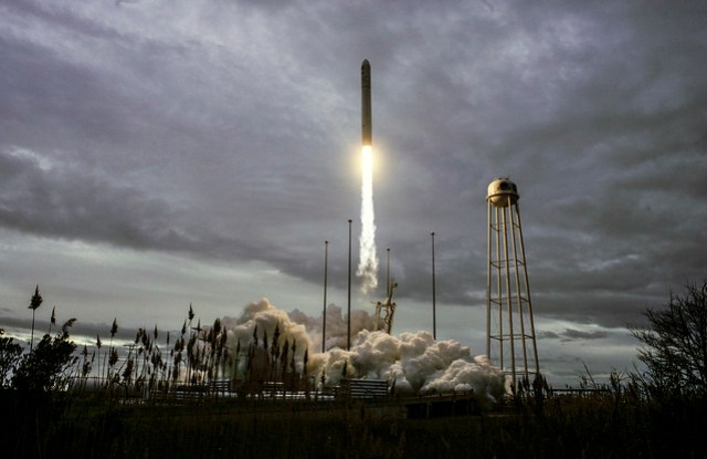 OA-8 Antares Launch