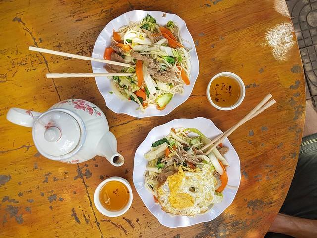 Les meilleures fresh noodles au Cambodge