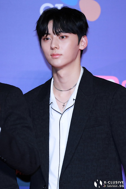 Hwang Minhyun (of WANNA ONE) at 2017 MAMA in Hong Kong