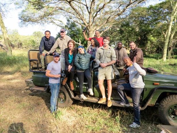 Safari en grupo