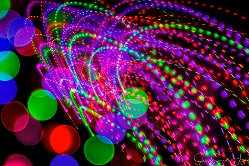 Bokeh Explosion 2 by Jeanie Sumrall-Ajero