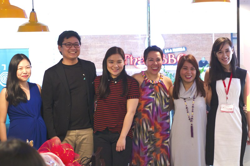 L to R_Moderator Dazzle Ng Sy with panelists Eugene and Ginger Arboleda_ Gina Romero_ Carla Perlas. AMG Head of Content Cristina Morales