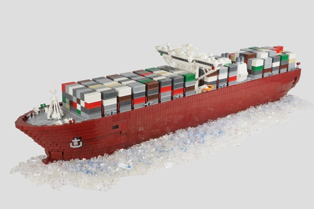 Container Ship (commissioned model)
