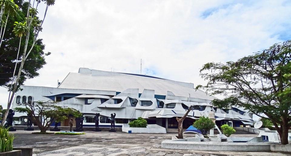 Ciudad de Guatemala Exterior Teatro Nacional Centro Cultural Miguel Angel Asturias 05