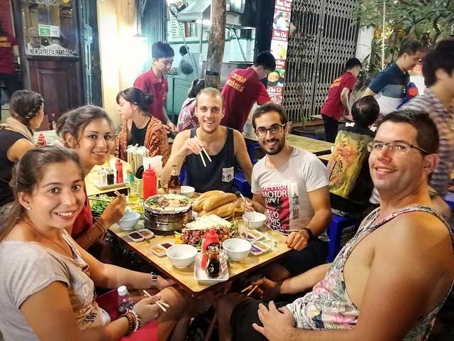 Les barbecues de tables avec Stephania et Fran