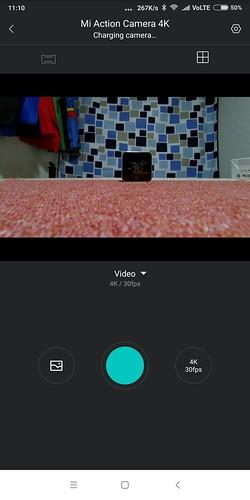 Xiaomi mijia action carmera mini 4K WIFI ペアリング設定方法 (8)