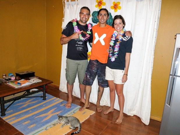 Couchsurfing en Isla de Pascua