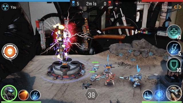 เกม The Machines เกม AR ที่เดโมกันตอน Keynote ของ Apple