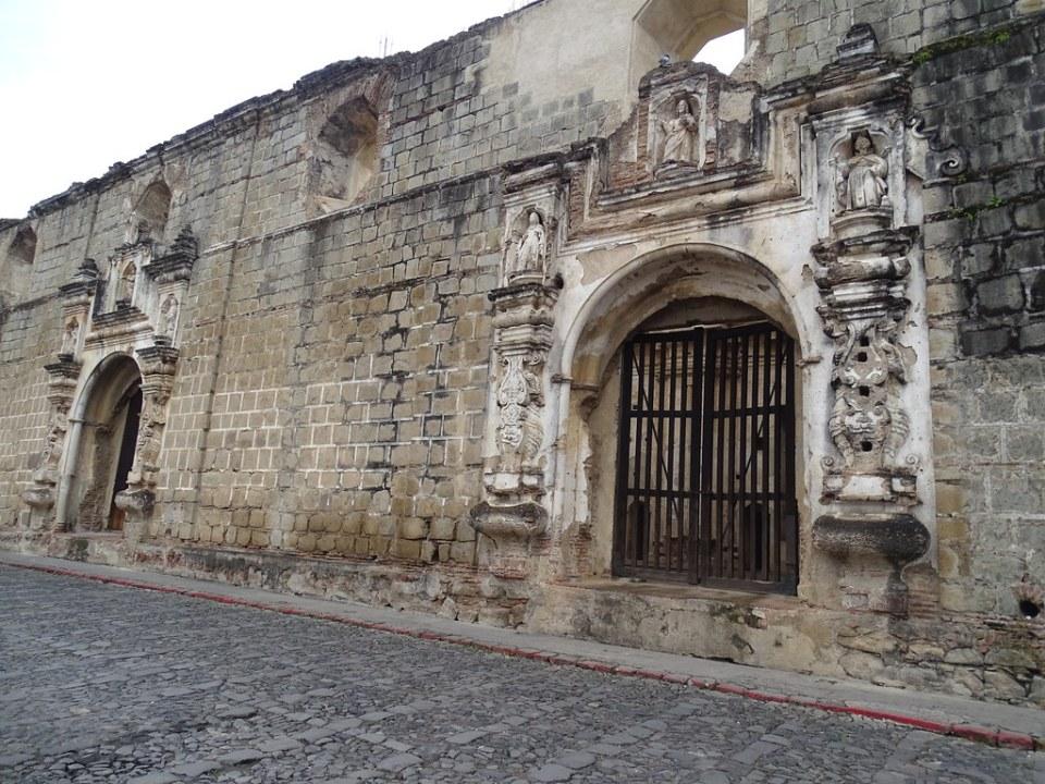 Antigua Ruinas Convento e Iglesia de Santa Clara Guatemala  02