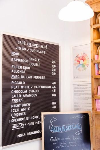 Neighbours Coffee, Paris